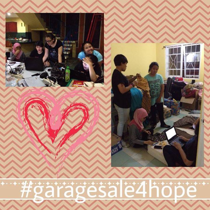 Semangat Menyambut #garagesale4Hope
