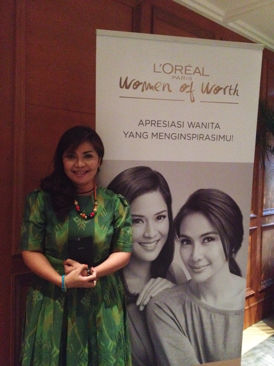 L'Oreal Women of Worth Indonesia 2014: Valencia Mieke Randa