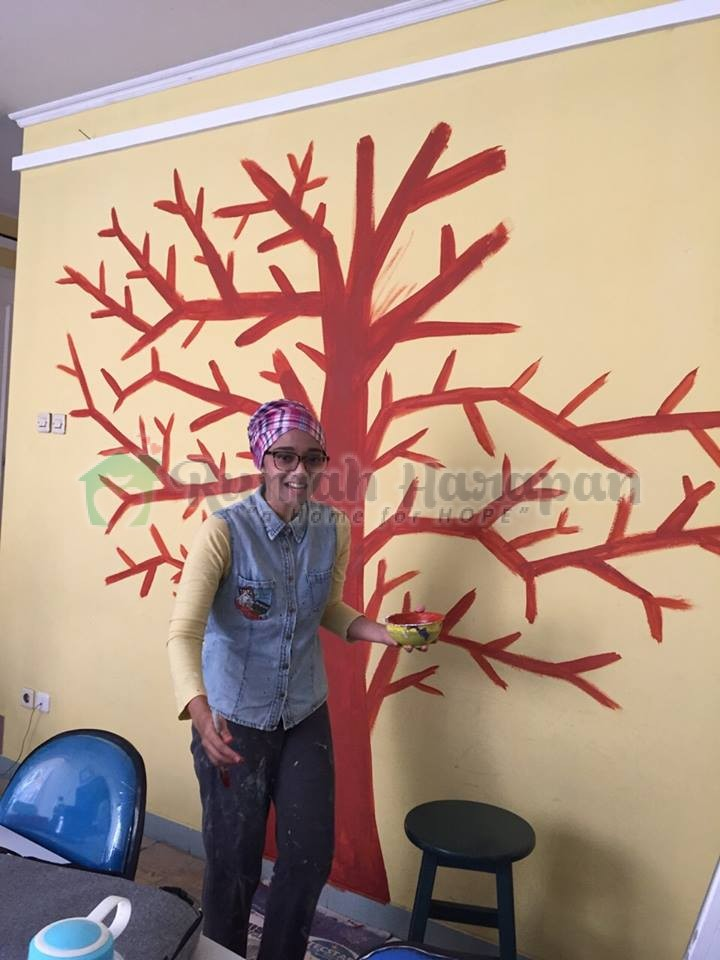 Senyum Lebar di Tree of Hope