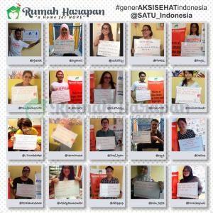 Ini komitmen sehat para relawan RH yang diposting di Twitter.