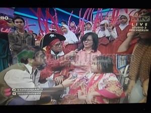 Tyas bertemu Shaher Sheikh di New EatBulaga ANTV