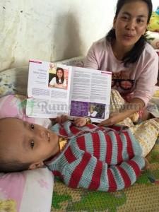 Ibunda Titian mengenal Kak Silly dari sebuah artikel di majalah. Selanjutnya, takdir yang bicara.