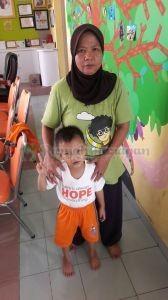Ilham dan mama tercinta
