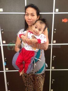 Fatih dan ibunya, Rukiah.