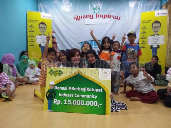 Berkah Donasi dari Indosat Community