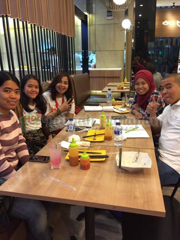 Menebar Harapan di RHVCF Bandung